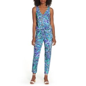 Lilly Pulitzer Paulina Sneak a Peak Jumpsuit